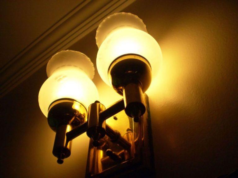 Stylowe oświetlenie wnętrza domu